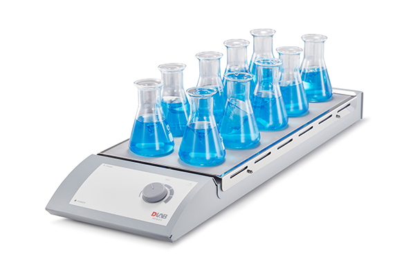 DLAB,Multi-channel (Hotplate) Magnetic Stirrer  MS-M-S10 10-Channel Cn plug