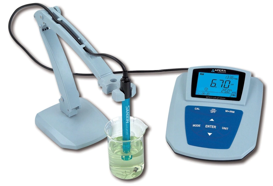 APERA, pH/mV Meter(±0.01pH) Refer to Electrode list for more optional electrodes.  MP511