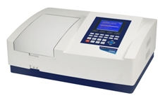 JENWAY, Model 6850 Variable Bandwidth Double Beam Spectrophotometer supplied with  230V power supply.